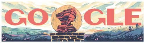 The Peak District Google Doodle
