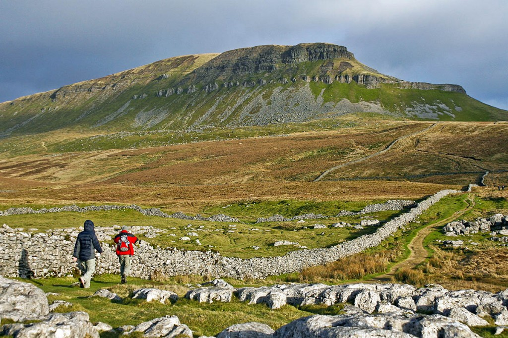 The walker began to feel ill on the approach to Pen-y-ghent's summit. Photo: Bob Smith/grough