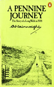 The cover of Wainwright's A Pennine Journey