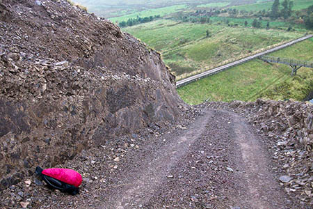 Campaigners say tracks gouge large trenches out of landforms