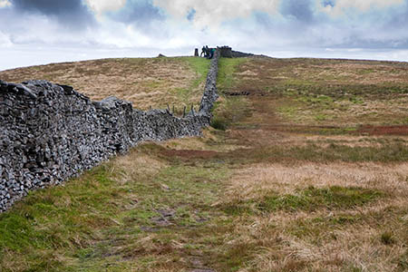 Pen-y-ghent's summit