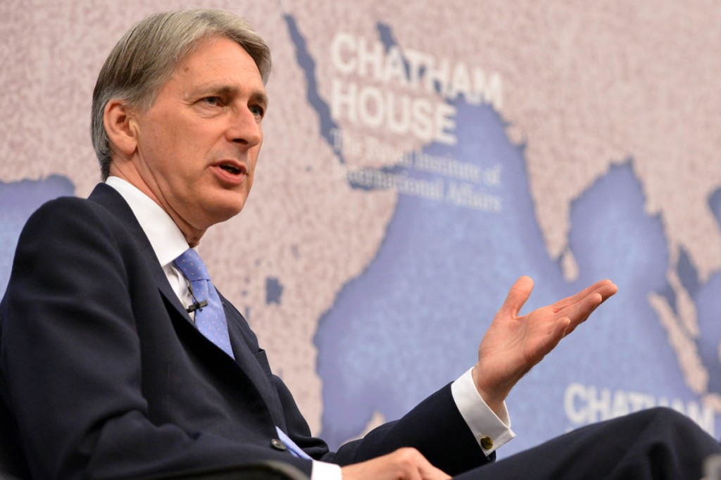 Philip Hammond made the announcement in his autumn statement. Photo: Ian Enness/Chatham House CC-BY-2.0
