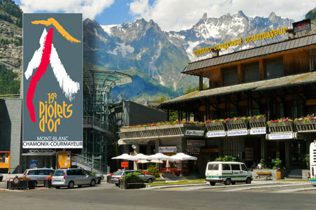 The Italian resort of Courmayeur, one of the venues for the Piolets d'Or