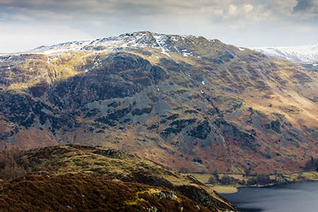 Place Fell, scene of today's rescue