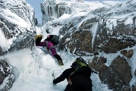 Point Five Gully on Ben Nevis's North Face. Photo: Rozzen CC-BY-SA-2.0