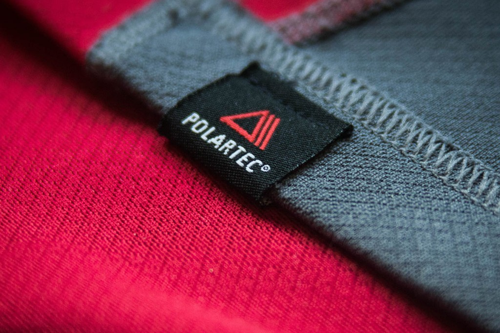 Polartec uses recycled bottles in its fabrics