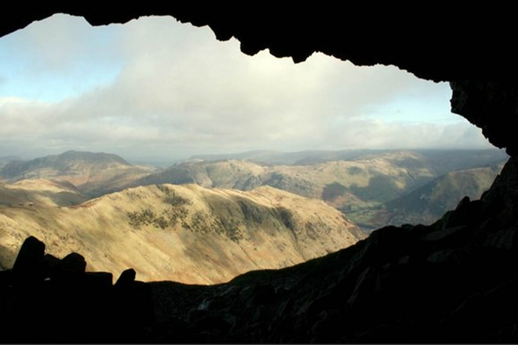 The Priest's Hole on Dove Crag featured in the BBC programme. Photo: Mick Garratt CC-BY-SA-2.0