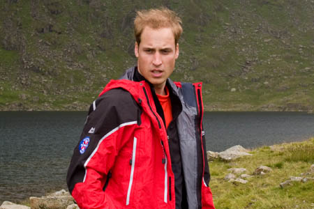 Prince William: rescuers' work saves countless lives