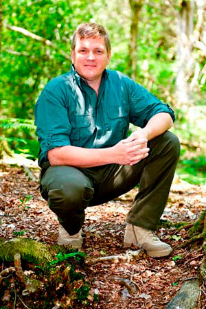 Ray Mears will give two presentations at the festival