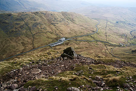 The woman fell on Red Screes, above the Kirkstone Pass. Photo: Bill Boaden CC-BY-SA-2.0