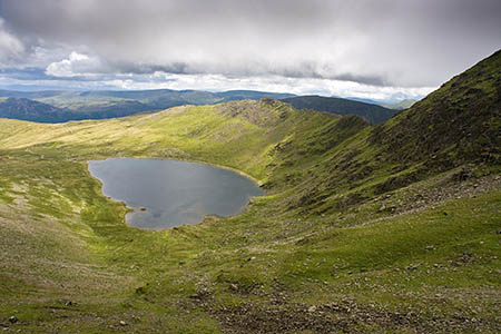 The missing people were actually near the outflow of Red Tarn