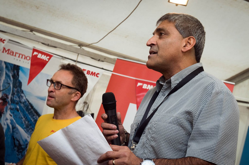 Rehan Siddiqui, right, with chief executive Dave Turnbull