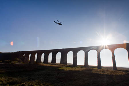 Ribblehead Viaduct: impressive however you  view it