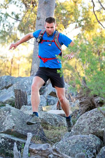 Richard Bowles is midway through his Te Araroa Trail run