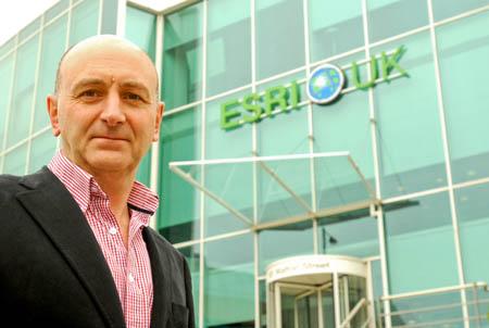Dr Richard Waite, managing director of ESRI UK