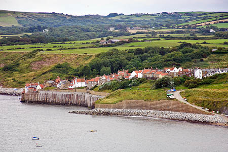 Robin Hood's Bay on the North Yorkshire coast