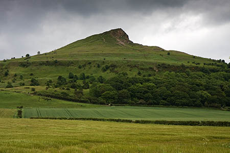 Roseberry Topping in the North York Moors, a rival to K2?