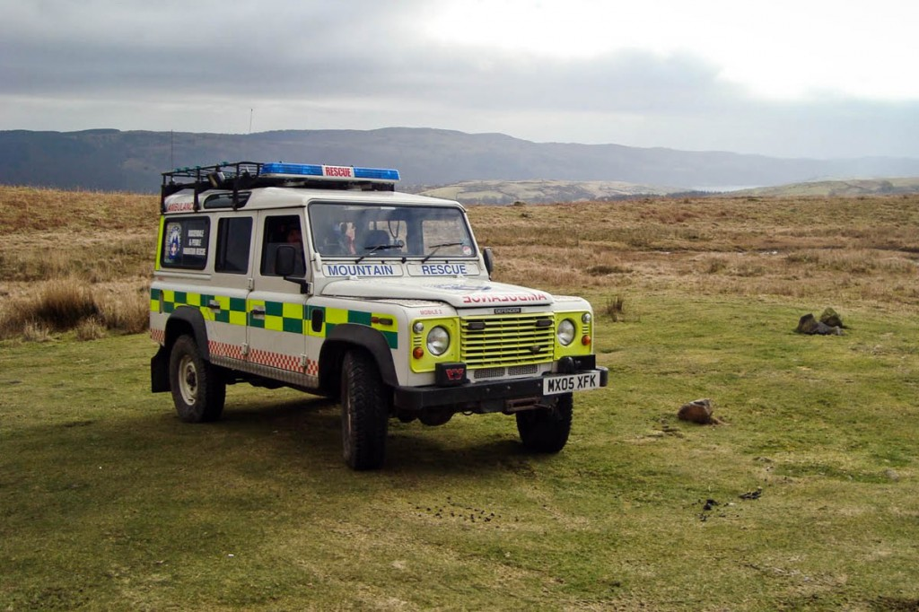 Mr Johnston is a member of the Rossendale and Pendle MRT in Lancashire. Photo: Rossendale and Pendle MRT