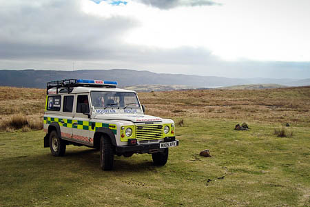 The challenge walk will raise funds for the Rossendale and Pendle MRT, which covers the Lancashire moorlands