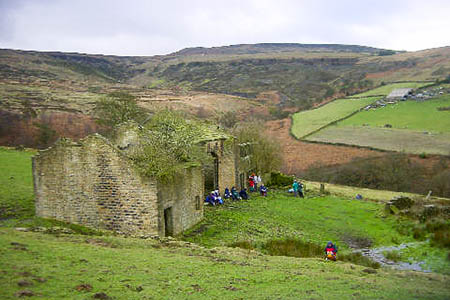 The man injured his leg in Royd Edge Clough. Photo: Martin Clark CC-BY-SA-2.0