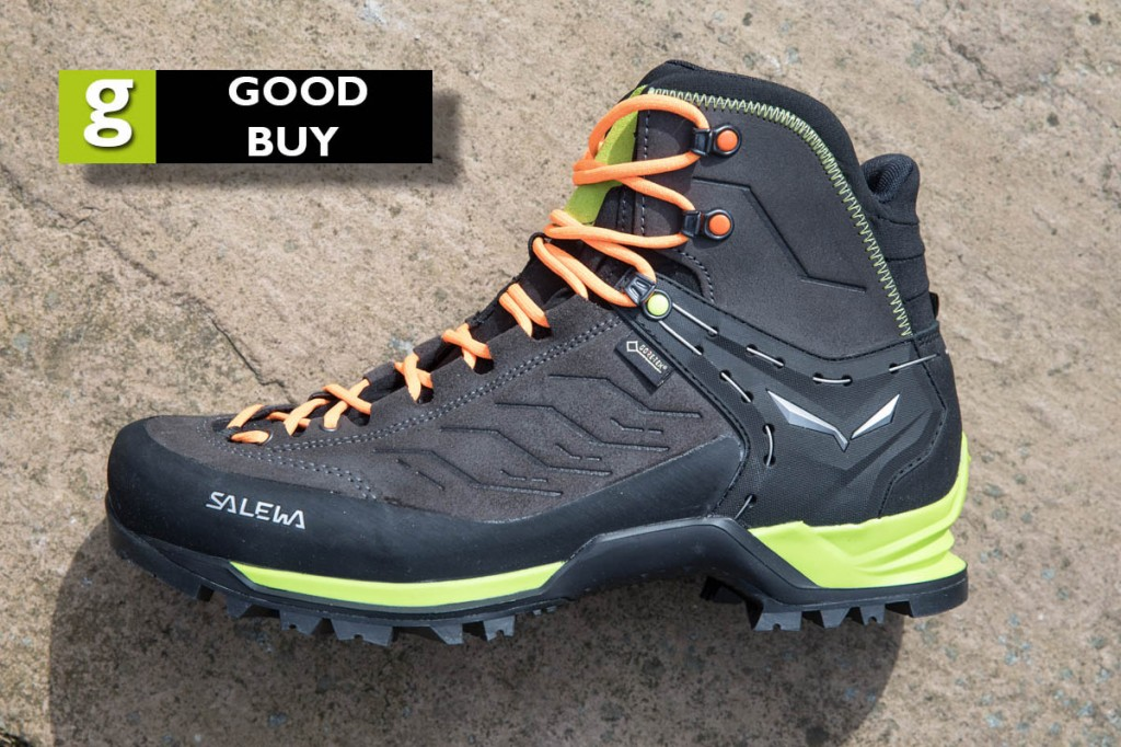 Salewa Mountain Trainer Mid GTX. Photo: Bob Smith/grough