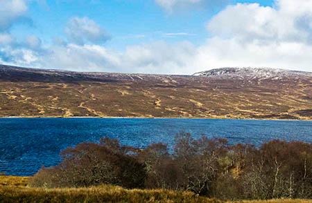 The Sallachy site near Loch Shin