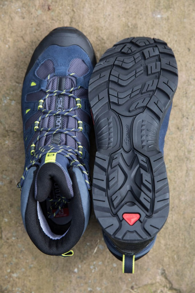 Salomon Quest Prime GTX uppers and sole. Photo: Bob Smith/grough