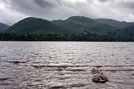 The woman was lost on the fells between Howtown and Patterdale
