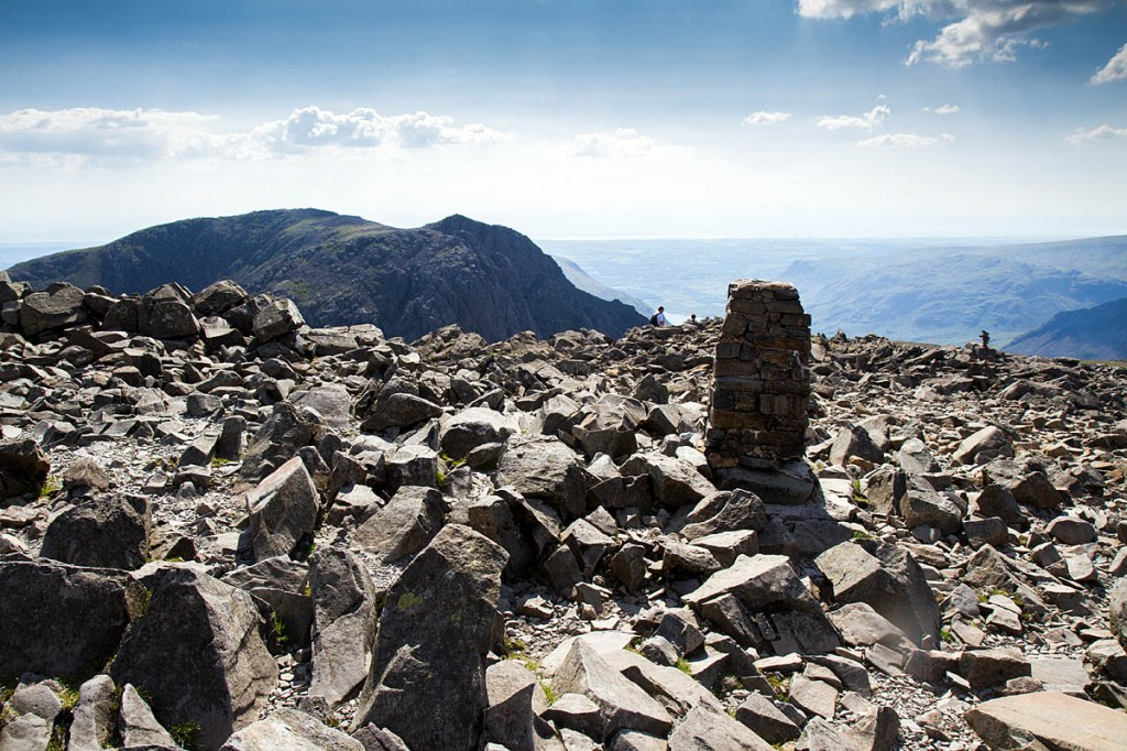 Scafell Pike summit: 'an entire nation's height is modified'