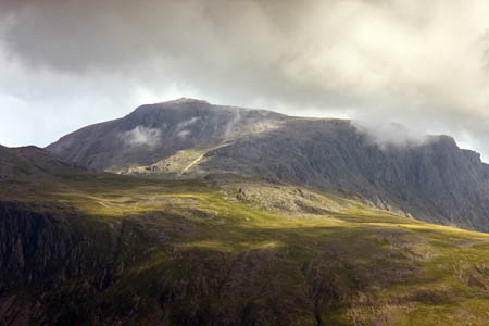 Scafell Pike: the rescue involved a stretcher carry from near the summit