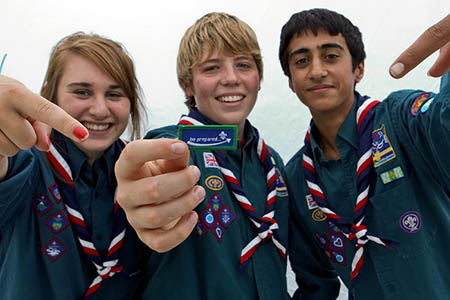 Atheists will be able to join the Scouts from January. Photo: Scout Association