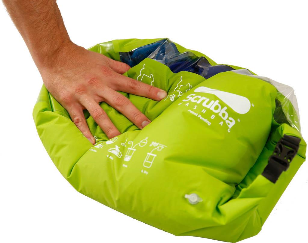 The Scrubba wash bag