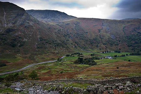 The man's wife was waiting for his return at Seathwaite