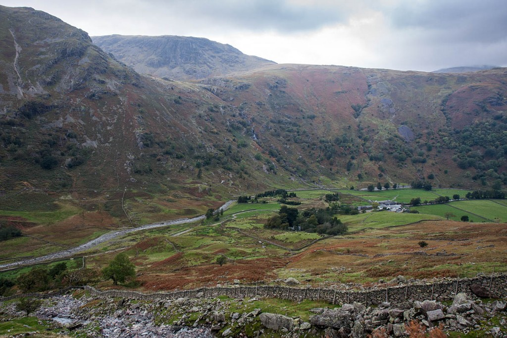 The rescuers say there is no mobile phone reception at Seathwaite. Photo: Bob Smith/grough
