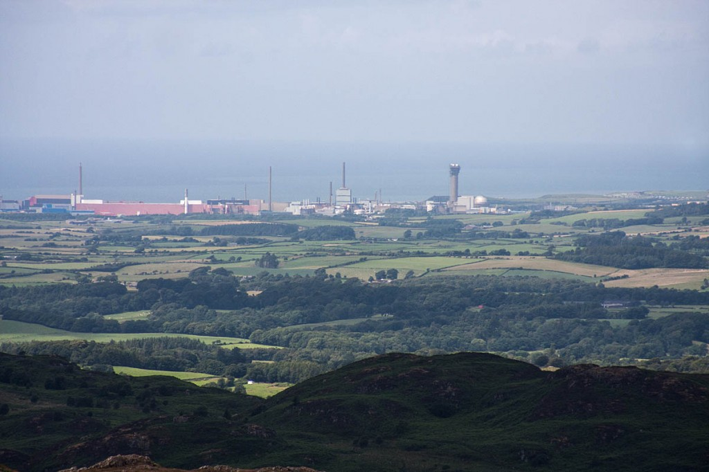 A proposed new nuclear power station near Sellafield will be visible from the western Lake District. Photo: Bob Smith/grough