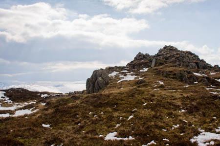 Sheffield Pike's summit