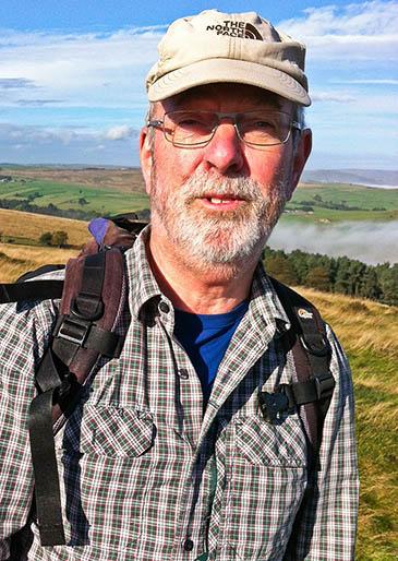Simon Birch, chairman of the Mountain Bothies Association
