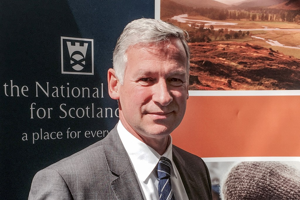 Simon Skinner took charge of the National Trust for Scotland a year ago