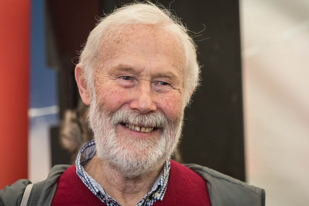 Sir Chris Bonington: 'remarks were tongue-in-cheek'. Photo: Bob Smith/grough