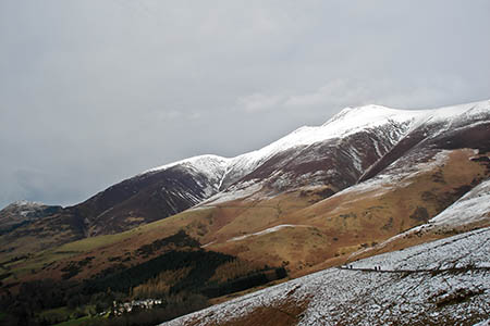 The man tumbled into a gill after losing control during his descent of Skiddaw. Photo: Chubbennaitor CC-BY-SA-3.0