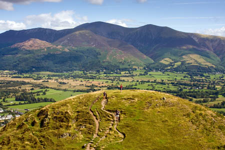 Sarah Crickmer claimed a walker had broken a leg on Skiddaw
