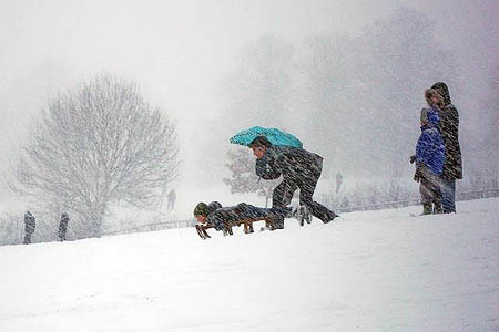 Sledgers need to minimise their risks. Photo: John Brightley CC-BY-SA-2.0