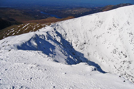 Snowdon is still in full winter conditions, rescuers warned. Photo: John S Turner CC-BY-SA-2.0