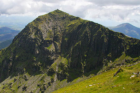 Snowdon: the height remains the same, but the climb just got bigger. Photo: Myrddyn Phillips
