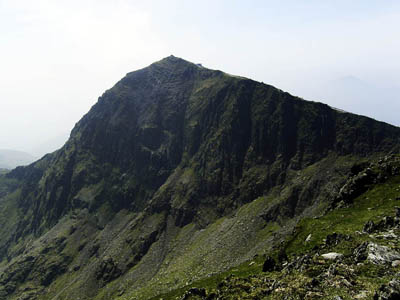 Snowdon, where two rings were found on the Pyg Track. Photo: Martin V Morris