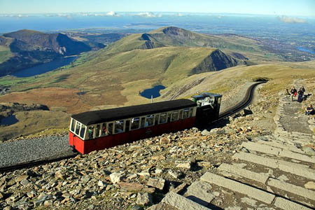 The Frontera was removed from its position close to the Snowdon Mountain Railway. Photo: Jeff Buck CC-BY-SA-2.0