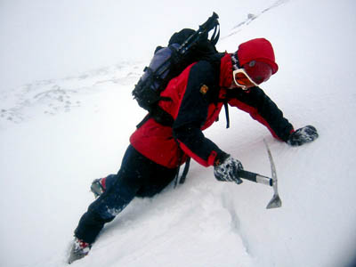 Mountaineers in the Cairngorms will need to assess avalanche risk
