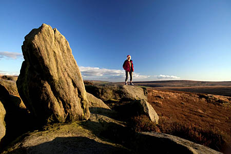 The project encourages people to get into the South Pennines landscape. Photo: Steve Morgan