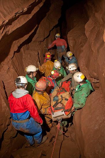 Grough Cave Team Details Nine Hour Rescue Of Man Stuck