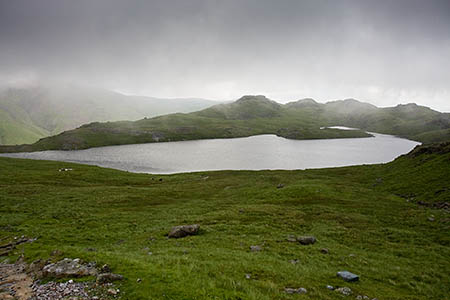 The man was camping near Sprinkling Tarn when he was taken ill